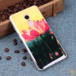Чехол ТПУ Цветы для Xiaomi Redmi Note 4 / Note 4X, арт.010214