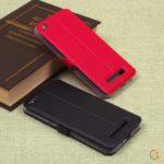 Чехол-книжка для Xiaomi Redmi 4А, арт.002017 (Черный)