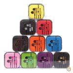 Стерео гарнитура MI Piston с микрофоном, арт.008318 (Фиолетовый)