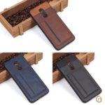 Чехол с карманом под пластиковые карты для Xiaomi Redmi 5 Plus, арт.010459 (Черный)