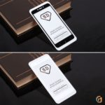 Защитное стекло Full Glue для Xiaomi Redmi 4X на полный экран, арт.010630 (Черный)