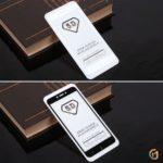 Защитное стекло Full Glue для Xiaomi Redmi 5A на полный экран, арт.010630 (Белый)