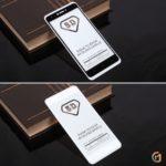 Защитное стекло Full Glue для Xiaomi Redmi Note 4/4X 3Gb+32Gb на полный экран, арт.010630 (Белый)