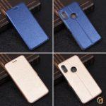 Чехол-книжка для Xiaomi Redmi Note 5/5 Pro, арт.002017 (Темно-синий)