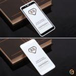 Защитное стекло Full Glue для Xiaomi Redmi 6/6A на полный экран, арт.010630 (Белый)