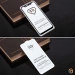 Защитное стекло Full Glue для Xiaomi Mi 8 на полный экран, арт.010630 (Черный)