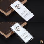 Защитное стекло Full Glue для Xiaomi Mi Mix 3 на полный экран, арт.010630 (Белый)