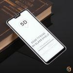 Защитное стекло Full Glue для Xiaomi Mi 8 Lite на полный экран, арт.010630 (Черный)