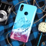 Чехол ТПУ Горы для Xiaomi Redmi Note 7, арт.011014