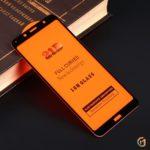Защитное стекло Full Glue для Xiaomi Redmi 7A на полный экран, арт.010630 (Черный)