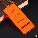 Защитное стекло Full Glue для Xiaomi Mi CC9 на полный экран, арт.010630 (Черный)