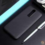 Чехол ТПУ карбон для Xiaomi Redmi 8, арт.011068 (Черный)