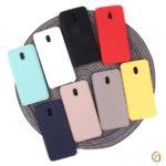 Панель Soft Touch для Xiaomi Redmi 8A, арт.007002 (Желтый)