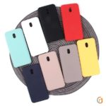 Панель Soft Touch для Xiaomi Redmi 8A, арт.007002 (Темно-синий)