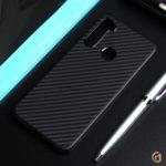 Чехол ТПУ карбон для Xiaomi Redmi Note 8T, арт.011068 (Черный)