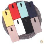 Панель Soft Touch для Xiaomi Redmi 8, арт.007002 (Желтый)