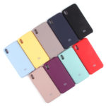 Панель Soft Touch для Xiaomi Redmi 7A, арт.007001 (Голубой)