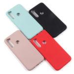 Панель Soft Touch для Xiaomi Redmi Note 8, арт. 007003 (Черный)