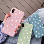 Чехол ТПУ Сердечки для Xiaomi Redmi Note 8T, арт.011525 (Зеленый)
