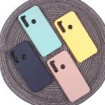 Панель Soft Touch для Xiaomi Redmi Note 8T, арт. 007001 (Розовый песок)