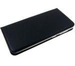 Чехол-книга «Эко-кожа с прострочкой»,  Xiaomi Redmi Note 9 черная