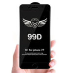 Защитное стекло 99D для Xiaomi Redmi 4X проклеивается на весь экран, черное