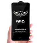 Защитное стекло 99D для Xiaomi Redmi Note 4X проклеивается на весь экран, черное