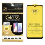 Защитное стекло 9H Class Screen Protector Xiaomi Redmi Note 9S полная проклейка, в упаковке черное