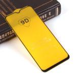 Защитное стекло Full Glue для Xiaomi Redmi 9 на полный экран, арт.010630 (Черный)