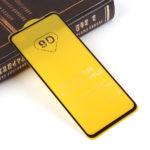 Защитное стекло Full Glue для Xiaomi Redmi Note 9 на полный экран, арт.010630 (Черный)