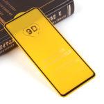 Защитное стекло Full Glue для Xiaomi Redmi Note 9S на полный экран, арт.010630 (Черный)