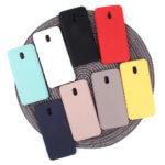 Панель Soft Touch для Xiaomi Redmi 8A, арт.007002 (Черный)