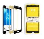Защитное стекло 9D Colorful Xiaomi Redmi 4X пластиковая упаковка, черное