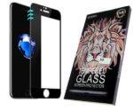 Защитное стекло 5D «LEO» для Xiaomi Redmi Note 9 с полной проклейкой, черное